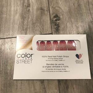 Color Street Nail Strips Nuclear Fuchsian